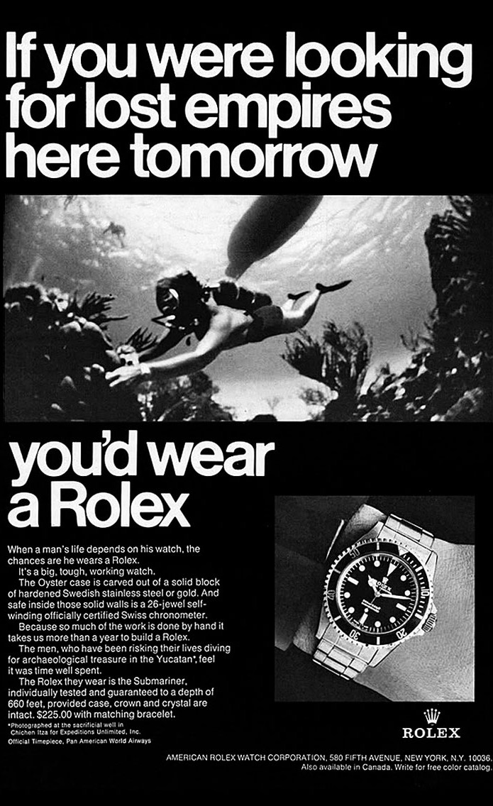submariner advertisement
